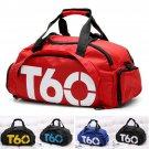 Brand New Unisex Sport Gym Bag Fitness Waterproof Outdoor Backpack sac de T60