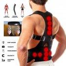 Posture Corrector Support Magnetic Back Shoulder Brace Belt For Men Women