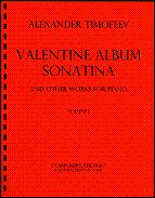 Valentine Album, Sonatina and other works for piano