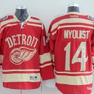 Men's Red Wings #14 Gustav Nyquisi Red Winter Heritage Classic Hockey Jersey