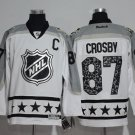 Men's Pittsburgh Penguins #87 Sidney Crosby White All Star Stitched Jerseys