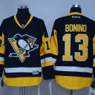 Men's Pittsburgh Penguins #13 Nick Bonino Black Throwback Stitched Jerseys