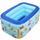 130x85x55cm Inflatable Swimming Pool Eco-friendly Pvc Portable Foldable Child