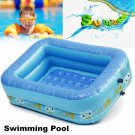 Kids Inflatable Swimming Pool Eco-friendly PVC Toughness 2 Layered Convenient