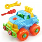 Disassembly Toy Car Classic Toy With Assemble Screw Driver Toys  For Children