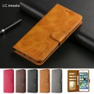Retro Luxury Leather Flip Case For iPhone XS Max XR Cover With Card Holder