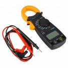 DT3266L Digital Ampere Clamp Meter Multimeter Current Clamp Pincers Voltmeter