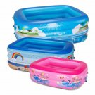 Hot Eco-friendly PVC Swimming Ring Round Three-color Children's Inflatable Baby