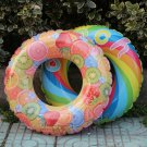Thicken Swimming Ring Windmill Fruit Swim Pool Toys Safety Inflatable Swim Rings