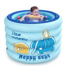 Portable Baby Swimming Pool Inflatable Kids Bath Tub 100x75cm Baby