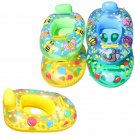 Portable Inflatable Summer Baby Kids Cartoon Safety Swimming Ring Fun Pool Float