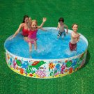 244*46cm Free Inflatable Round Pool No Air Pump Pool Baby Hard Rubber Plastic