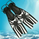 Professional Scuba Diving Fins Adult Adjustable Swimming Shoes Silicone Long
