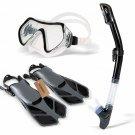 Professional Scuba Diving Mask Silicone Mask Snorkel Wear Resistant Diving Masks