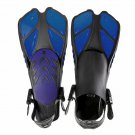 Swimming Fins Floating Training Fin Flippers with Adjustable Heel Swim Fins