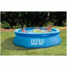 244cm 76cm Blue Agp Above Ground Swimming Pool Family Pool Inflatable Pool