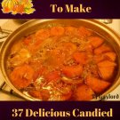 37 Delicious Candied Sweet Potato Recipes Ebook
