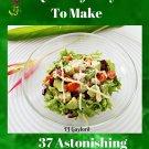 37 Astonishing Chicken Avocado Salad Recipes Ebook