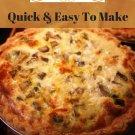 37 Delicious Sausage Quiche Recipes Ebook