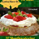 37 Mouthwatering Holiday Pudding Recipes Ebook