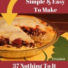37 Nothing To It Mouthwatering Sausage Pie Recipes Ebook
