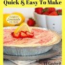 37 Yummy Lemonade Pie Recipes Ebook