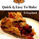 37 Scrumptious Cranberry Pie Recipes Ebook