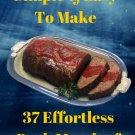 37 Effortless Pork Meatloaf Recipes Ebook
