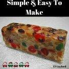 37 Tasty Fruitcake Recipes Ebook