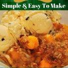 37 Delectable Homemade Peach Crisp Recipes Ebook
