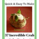 37 Incredible Crab Cake Recipes Ebook