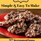 37 Scrumptious No Bake Cookie Recipes Ebook
