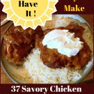 37 Savory Chicken Slow Cooker Recipes Ebook