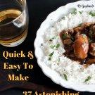 37 Astonishing Bourbon Chicken Recipes Ebook
