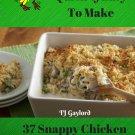 37 Snappy Chicken Noodle Casserole Recipes Ebook