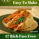 37 Rich Fuss Free Carrot Cake Recipes Ebook