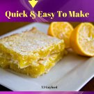 37 Delicious Lemon Square Recipes Ebook