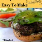 37 Spicy Mexican Beef Burger Recipes Ebook