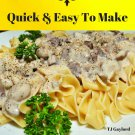 37 Savory Beef Stroganoff Recipes Ebook
