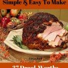 37 Drool-Worthy Succulent Baked Ham Recipes Ebook