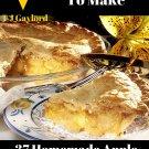 37 Homemade Apple Pie Recipes Ebook
