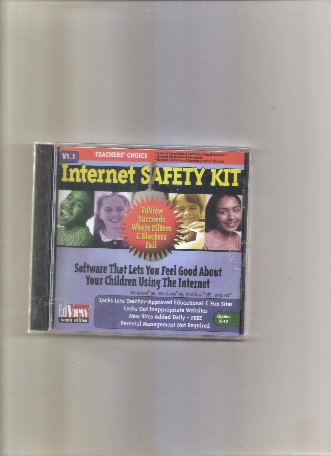 Internet Safety Kit (Grades K-12) for PC & Mac