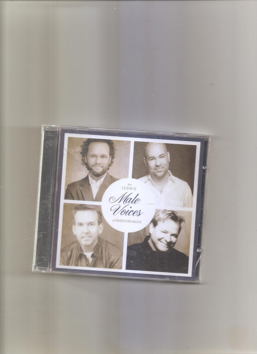 The Iconic: Male Voices of Christian Music by Various Artists (CD, 2013