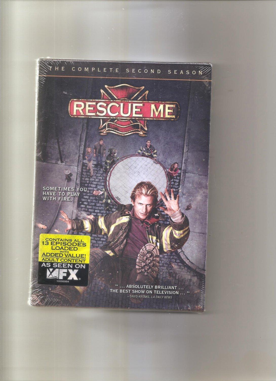 Rescue Me - The Complete Second Season (DVD, 2006, 4-Disc Set)