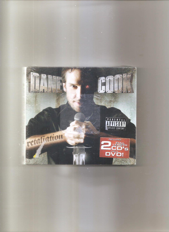Retaliation by Dane Cook (CD, Jul-2005, Comedy Central Record CD's & DVD