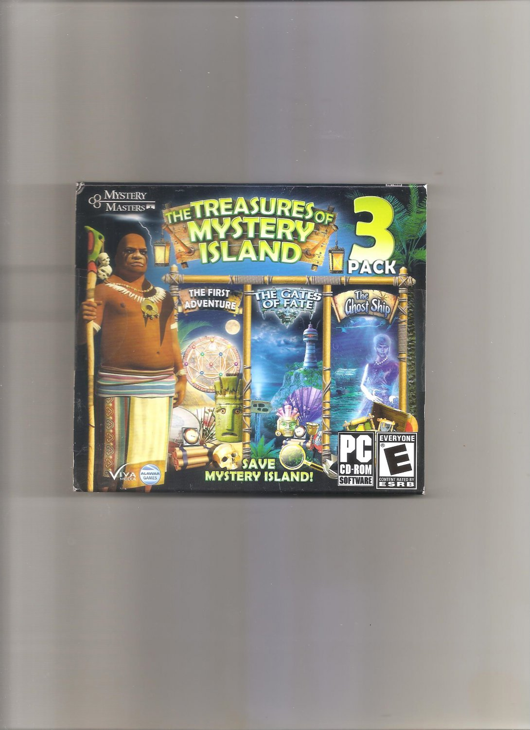Treasures of Mystery Island 3 Pack (PC, 2011)