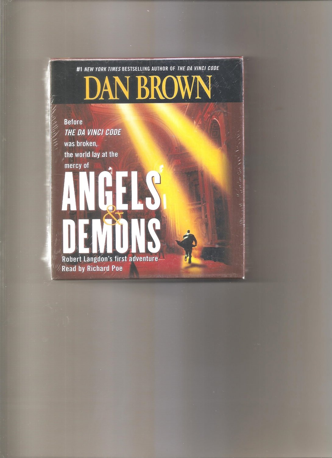 Robert Langdon: Angels and Demons Bk. 1 by Dan Brown (2003, CD, Abridged)