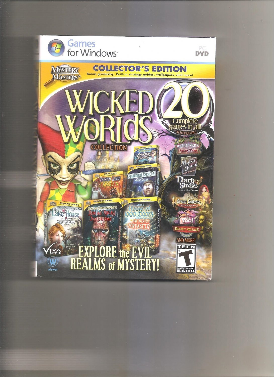 Wicked Worlds Collection: Collector's Edition (PC, 2013)