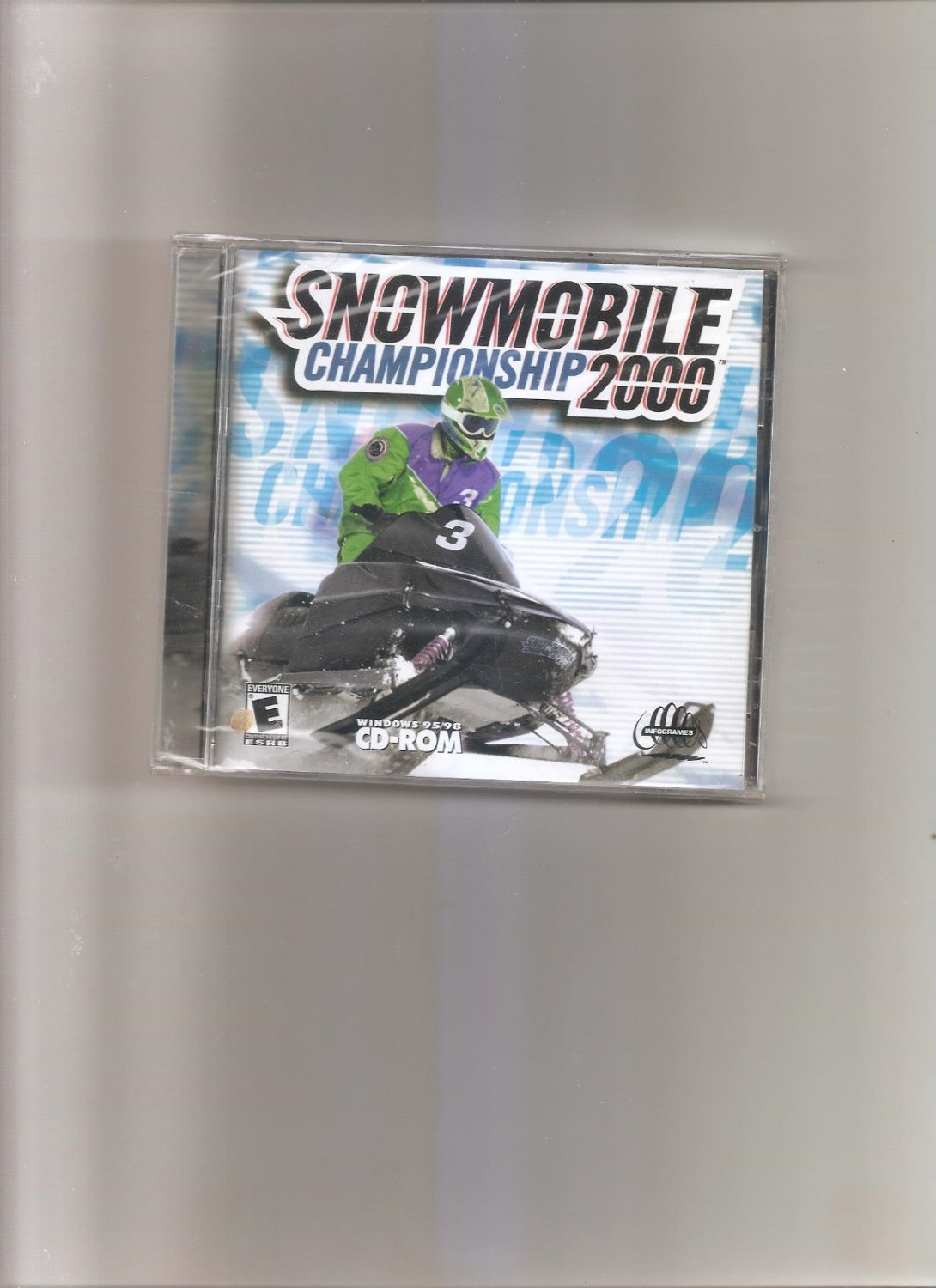 Snowmobile Championship 2000 Jewel Case (PC, 2000)