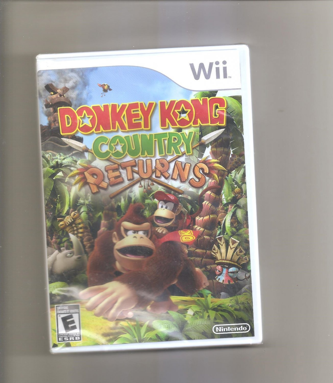 Nintendo Donkey Kong Country Returns (Nintendo Wii, 2010)